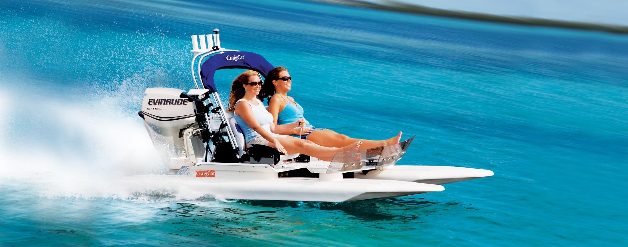 E2 Elite Craig Cat Small Power Boats